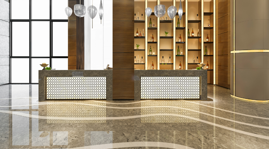Bring Luxury Hotel Interior Design With Marble Stone!