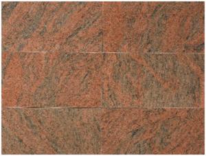 multi color granite calibrated tiles